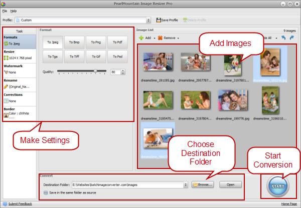 "PearlMountain Image Resizer Pro - 图片大小修改软件丨""反""斗限免"